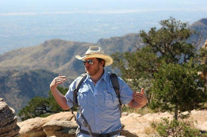 Phil on Mt Lemmon