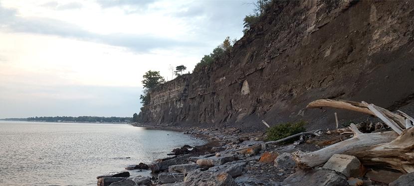 Geology of Eighteen MileCreek