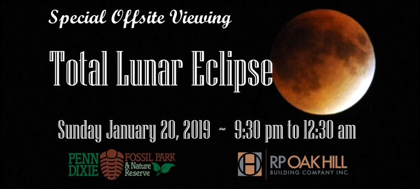 January 20: Total Lunar Eclipse