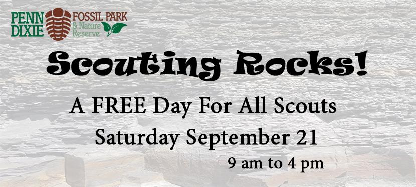 Scouting Rocks!