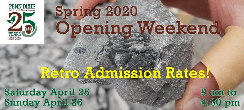 Spring 2020 OpeningWeekend
