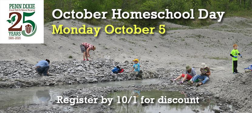 October Homeschool Day